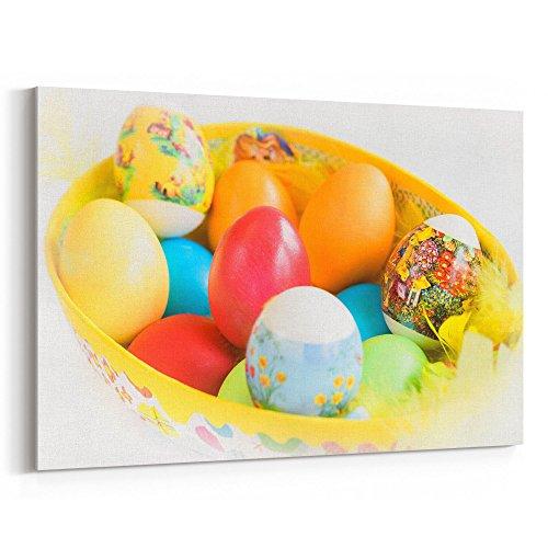 Westlake Art - Pskgg Egg - 16x24 Canvas Print Wall Art - Can
