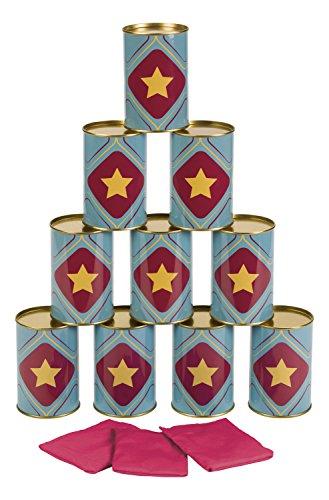 Toysmith Tin Can Topple Game ()