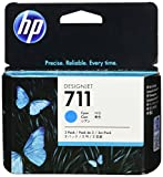 HP 711 3-pack 29-ml Cyan Designjet Ink Cartridge (CZ134A) for HP DesignJet T120 24-in Printer HP DesignJet T520 24-in Printer HP DesignJet T520 36-in PrinterHP DesignJet printheads help you respond quickly by providing quality speed and easy hassle-free p
