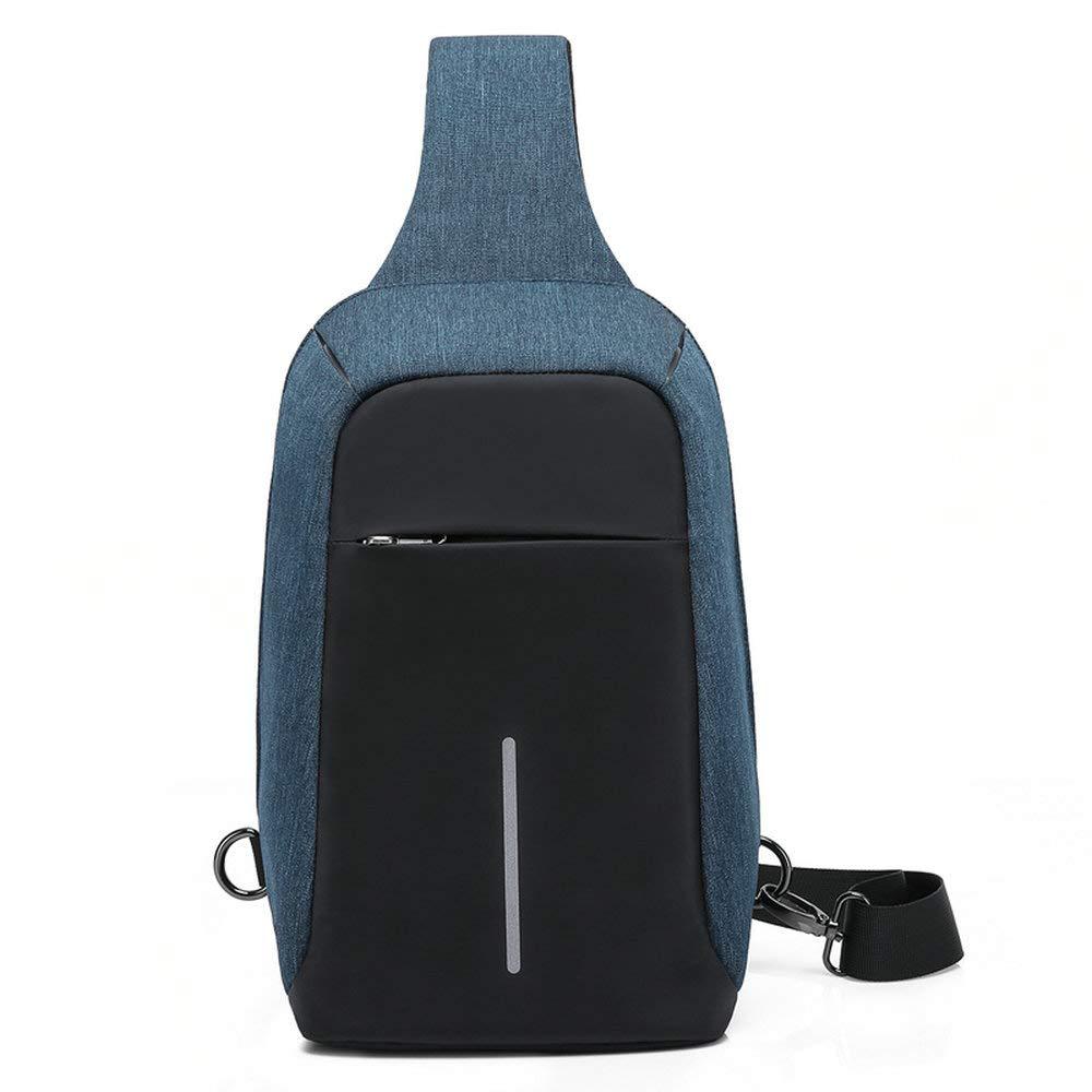 /épaule Sling Sac /à dos Antivol pour sports Sac /à dos /étanche Sac l/éger pour homme avec port USB