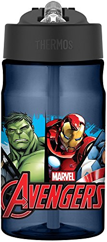 Thermos 12 Ounce Tritan Hydration Bottle, Avengers