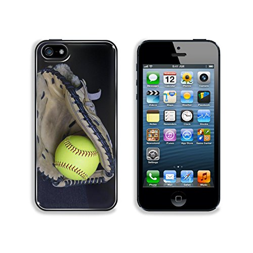 Liili Premium Apple iPhone 5 iphone 5S Aluminum Backplate Bumper Snap Case IMAGE ID 38269123 Softball Mitt With Yellow Ball