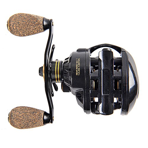 Fiblink baitcasting fishing reel 9 1 ball bearings casting for Left handed fishing reels