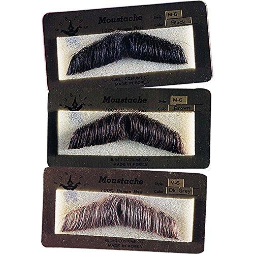 Gentlemen's Human Hair Moustache ()