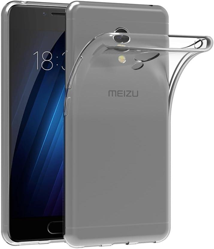 AICEK Funda Meizu M3S, Meizu M3S Funda Transparente Gel Silicona ...