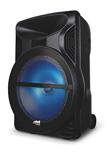 Naxa Electronics NDS-1213 Wireless Portable Karaoke Speaker, (Best Naxa Electronics Speaker Stands)