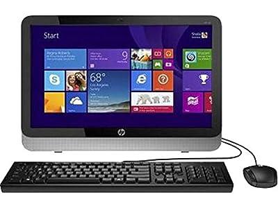 "2016 HP 19.5"" All in One Desktop Computer (AMD E-Series 1.35 GHz Processor, 4GB DDR3 RAM, 500GB HDD, DVD+/-RW, 19.5 Inch HD+ Backlit Display, WiFi, Windows 10 Professional) (Certified Refurbished)"