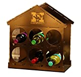 Henson Metal Works 4700-32 University of Missouri Logo Wine Rack