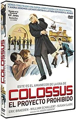 Colossus: El Proyecto Prohibido [DVD]: Amazon.es: Eric Braeden ...