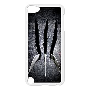 HXYHTY Customized Print Wolverine Pattern Hard Case for iPod Touch 5