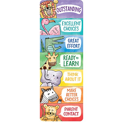 Creative Teaching Press Bookmark Safari Friends Desktop Behavior Clip Charts, Ctp 0698 ()