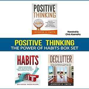 Positive Thinking: The Power of Habits Box Set Audiobook