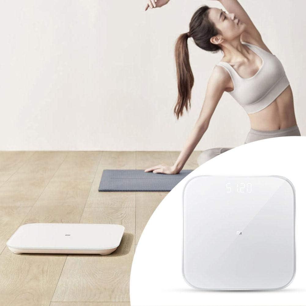 Everpertuk Weighing Scale Bilancia Pesa Pesi Smart Fitness di Precisione Bluetooth 5.0 per Xiaomi Scala del Peso