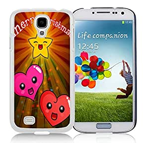 Popular Sell Design Samsung S4 TPU Protective Skin Cover Merry Christmas White Samsung Galaxy S4 i9500 Case 14