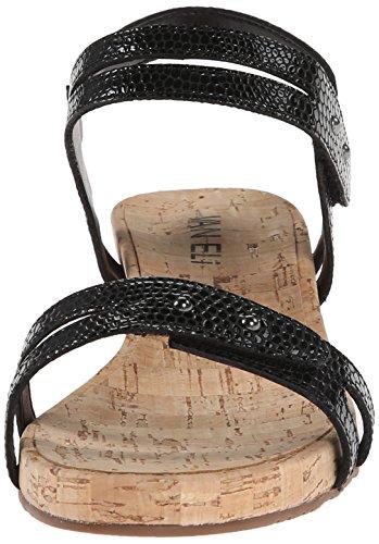 Naif Black VANELi Print Sandal Women's Wedge Kinna 663291 ZxAqv8