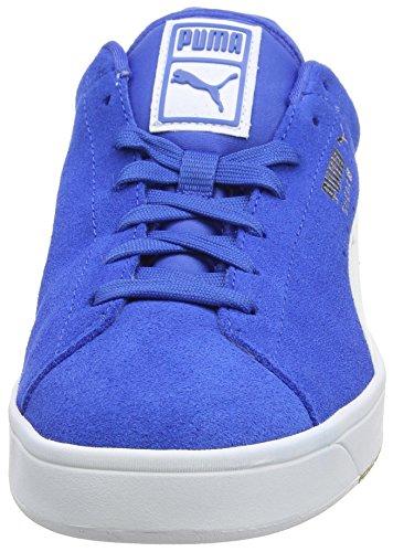 Bleu wht Basses Homme Puma Suede ryl Sneakers pum S gvTTHX