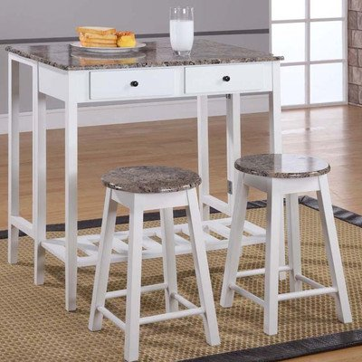 Breakfast Pub Table Set by InRoom Designs
