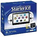 PlayStaiton Vita本体 スターターキット グレイシャー・ホワイトの商品画像