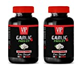 blood pressure and cholesterol - GARLIC & PARSLEY 600MG - EXTRA STRENGTH - garlic pills cholesterol - 2 Bottles 200 Softgels