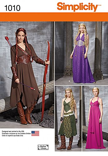Simplicity Ladies Sewing Pattern 1010 Game of Thrones Style (Game Of Thrones Costumes Designer)