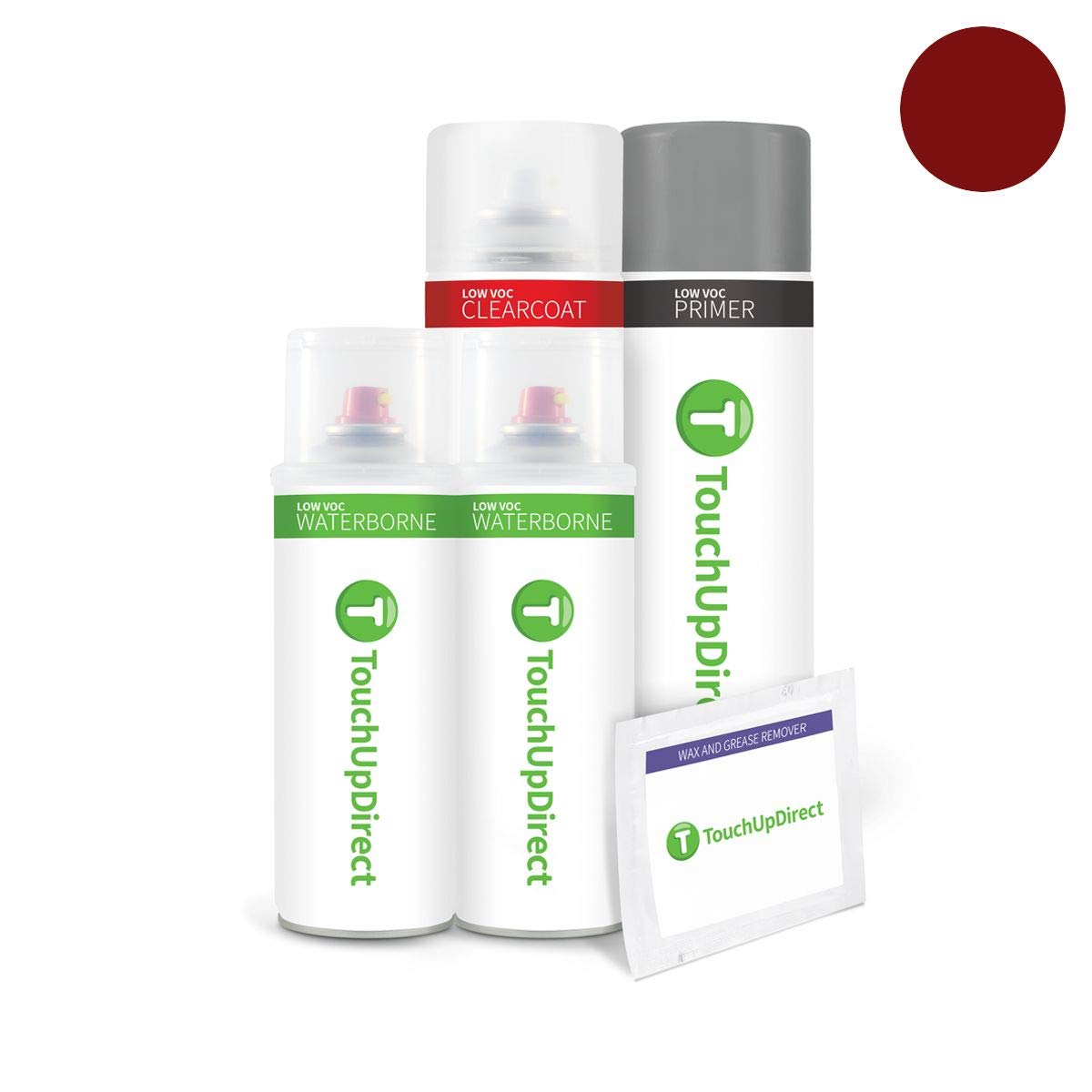 TouchUpDirect for Lexus Exact Match Automotive Touch Up Paint - Matador Red Mica (3R1)