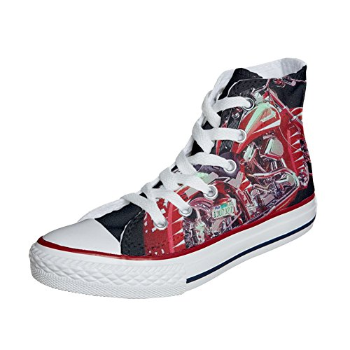 Converse All Star Chaussures Coutume (produit artisanal) moto