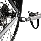 Wellfun 2PCS Bike Trailer Hitch Bicycle Stainless