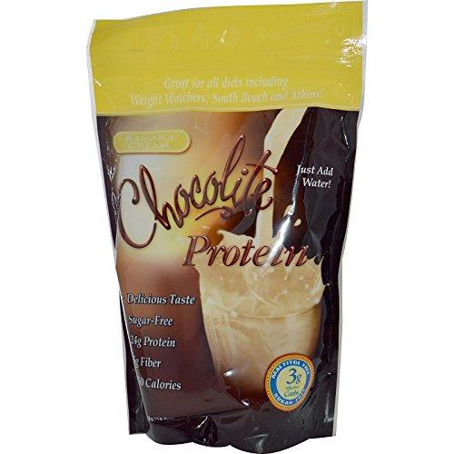 Cheap HealthSmart Chocorite Protein Shake Powder, Banana Cream, 14.7 Ounce