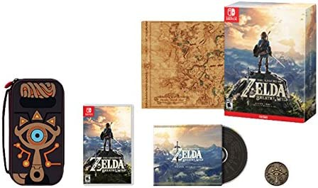 Nintendo The Legend of Zelda: Breath of the Wild Special Edition ...
