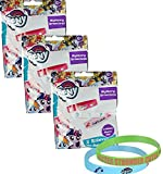 My Little Pony Mystery Bracelet Blind Bag Set of 3 (Individual Bags) Each Contains 2 Silicone Bracelets