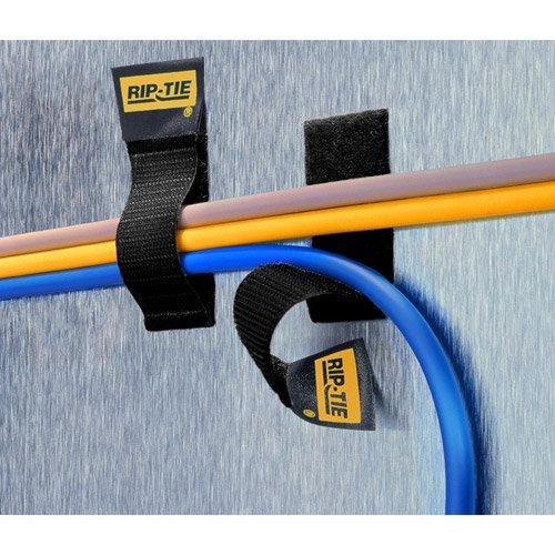Bk Rip Tie (Rip-Tie C-04-005-BK 5 Pack 1