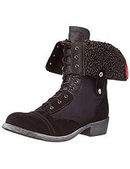 r.b.l.s. Andale Women US 7.5 Black Winter Boot