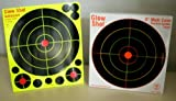 "75 Pack - 8"" Reactive Splatter Targets - Glowshot - Multi Color - Gun and Rifle Targets - Glow Shot"