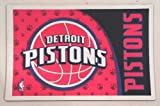 Hunter Detroit Pistons NBA Licensed Neoprene Pet Bowl Mat