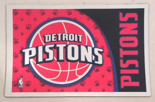 Hunter Detroit Pistons NBA Licensed Neoprene Pet Bowl Mat by Hunter