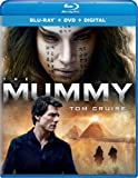 The Mummy (2017) (Blu-Ray/DVD) Combo Tom Cruise, Annabelle Wallis