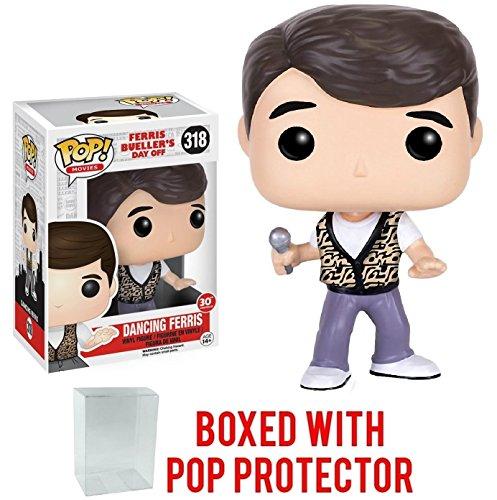 Funko Pop! Movies: Ferris Bueller's Day Off - Dancing Ferris Vinyl Figure (Bundled with Pop Box Protector Case)
