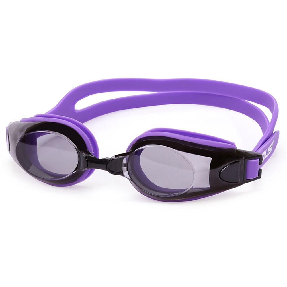 ITODA Anti-Fog UV Schutz Schwimmbrille mit verstellbarem Silikonband Klare Sicht Anti Beschlag Wasserdicht Unisex Brille Die Beste für Erwachsene Kinder Jungendliche ITODAUK