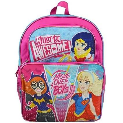 17ec5b9fafe6 Amazon.com  Super Hero Girls 16 Cargo Backpack  Toys   Games