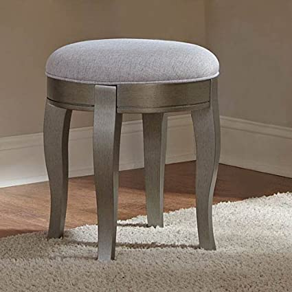 Hillsdale Furniture NE Kids 30545 Kensington Vanity Stool, Antique Silver - Amazon.com: Hillsdale Furniture NE Kids 30545 Kensington Vanity