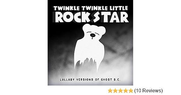 Lullaby Versions of Ghost by Twinkle Twinkle Little Rock
