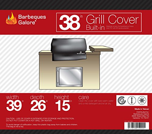 Barbeques Galore Universal Cover Built