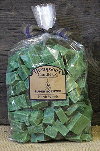 Thompson's Candle Co Super Scented Crumbles/Tarts/Wax Melts 32 oz ''North Woods''