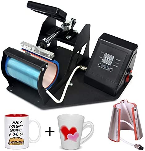 2 in 1 Mug Heat Press Machine Heat Transfer Sublimation Print MachineMug/12oz Latte Mug (2 in 1 Mug Press)