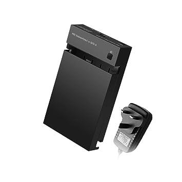 Biaobiaoc/HDD Carcasa USB 3.0 a SATA3.0 Dual Alta Velocidad ...