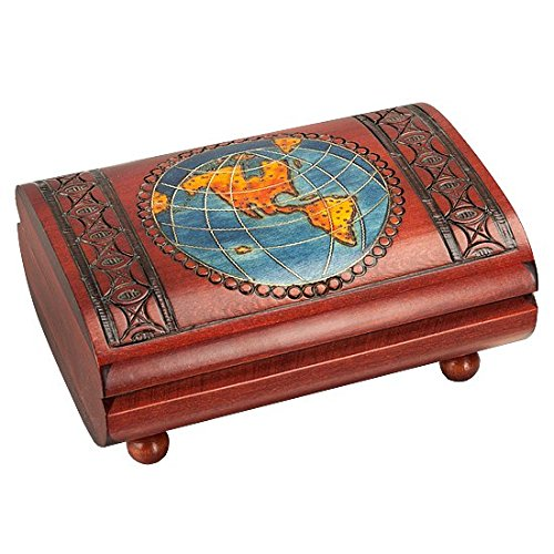 (Wooden Cigar Gift Box - Vintage Decorative - Large - for Men and Women (Discontinued by Manufacturer))