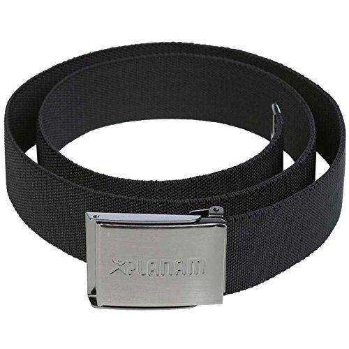 Planam 6040110 Size 110 cm Elastic Belt - Black