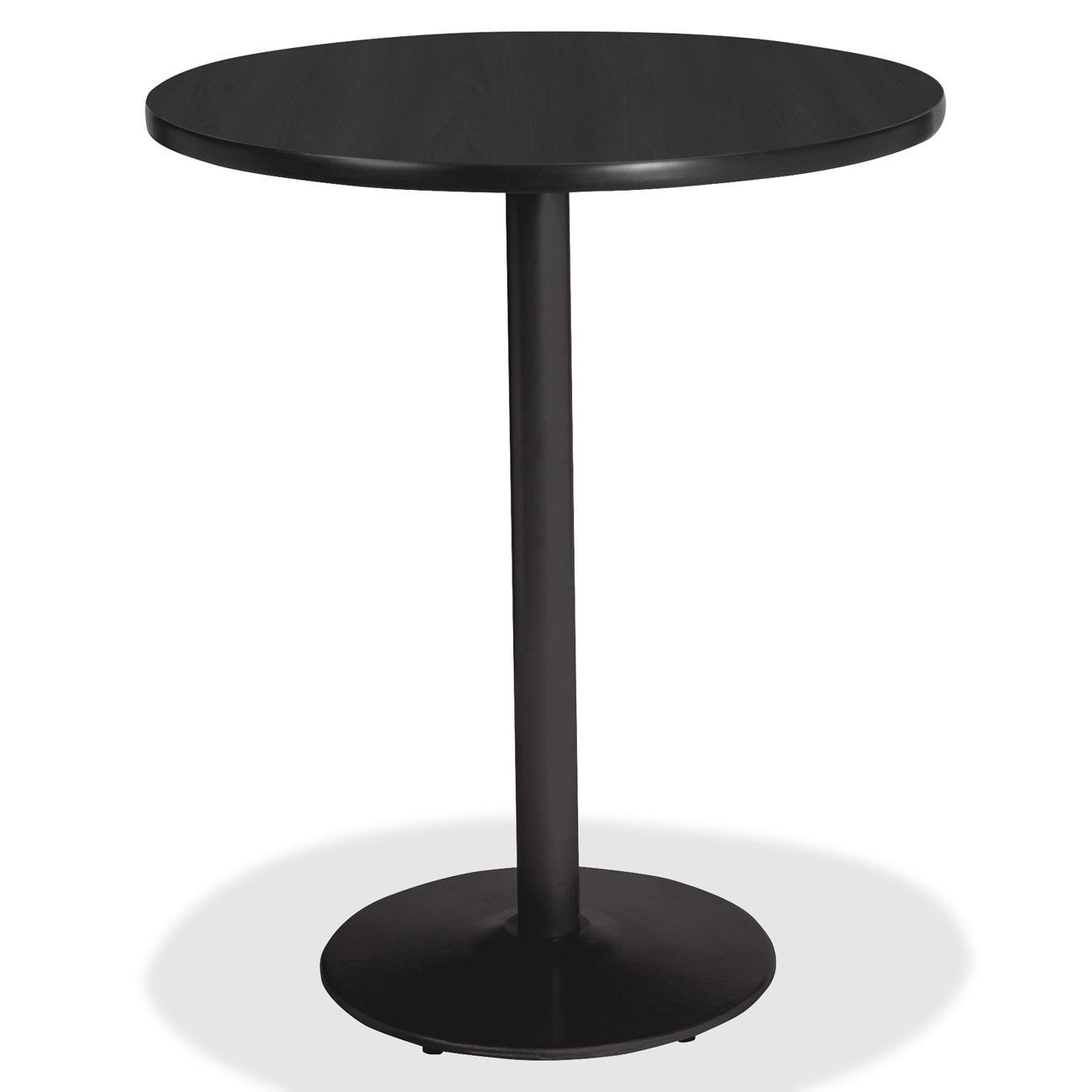 Lorell LLR89063 Bistro-Height Laminate Table with Base, 11'' Height X 11'' Width X 48'' Length