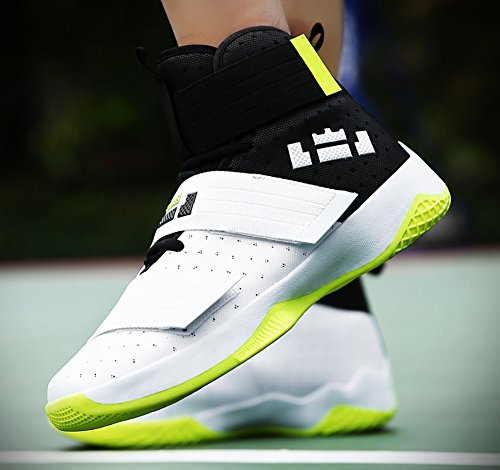 No.66 Town Couple Mens Womens High Top Running Shoes Fashion Sneaker,Basketball Shoes White