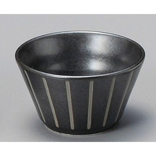 Small Bowl Snack Dipping Bowl, Salad Bowl size [ 71 x 40mm ] Black Stripe Anti-Small Japanese dish plates traditional oriental asian